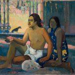 Paul Gauguin. Tahitiani in una stanza