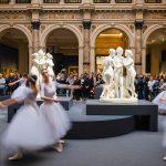 Un flash mob tra le Grazie di Canova e Thorvaldsen